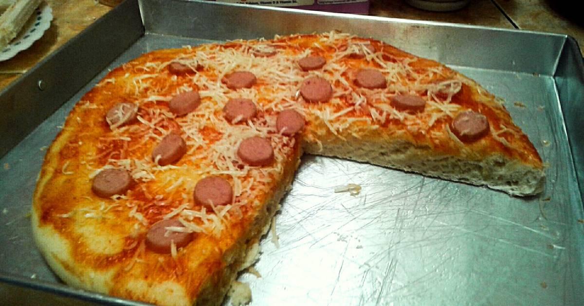cara membuat pizza keju